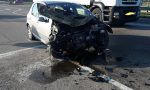 Brutto incidente sulla Provinciale: due auto coinvolte