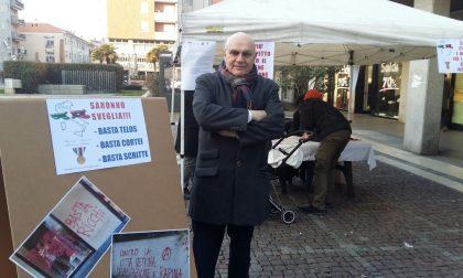 Raccolta firme, in piazza contro il Telos