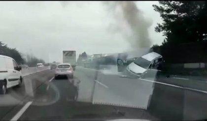 Grave incidente sull'A8 all'altezza di Legnano VIDEO