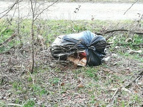 buscate cani polli morti nei sacchetti