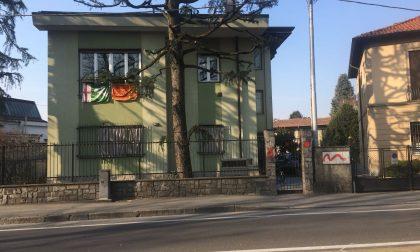 Imbrattata la casa del sindaco Fagioli