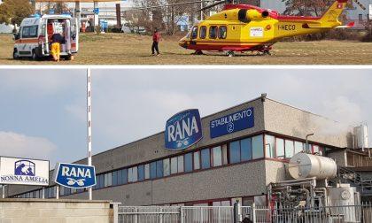 Incidente con muletto agli stabilimenti Rana di Gaggiano: operaio in ospedale
