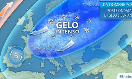 In arrivo ondata di freddo record e neve fino in Pianura
