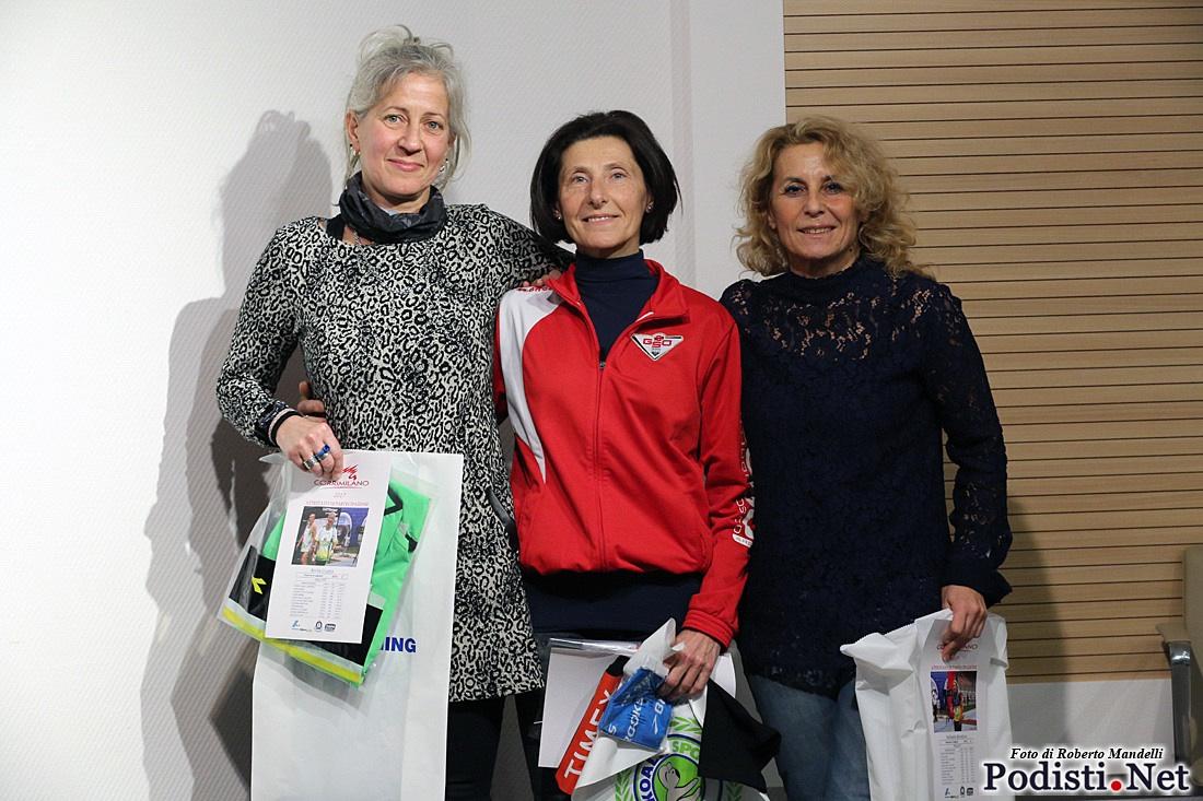 """Gso Arese, runner rosa premiate al """"CorriMilano"""""""
