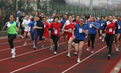 Nuova pista d'atletica al centro sportivo di S.Vittore Olona