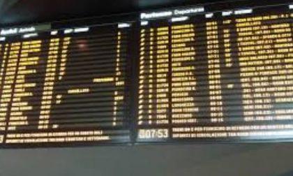 Sciopero: treni in ritardo anche nella fascia garantita