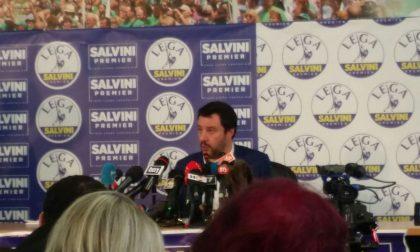 Le parole di Salvini in conferenza stampa