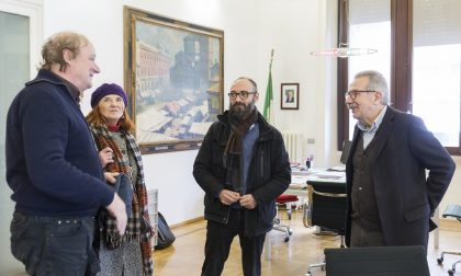 David Tremlett, uno dei più autorevoli pittori murali, a Legnano