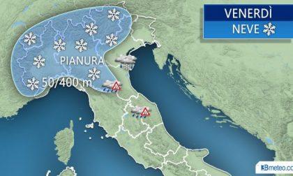 Neve Lombardia ecco le previsioni per venerdì 2 marzo