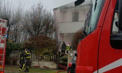 Incendio in via Baracca