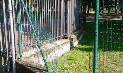 Rete del parco di Legnano tagliata: la segnalazione dei cittadini