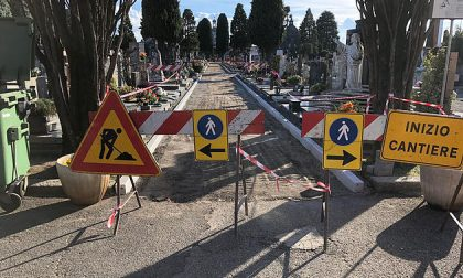 Iniziati i lavori per sistemare il cimitero di Parabiago