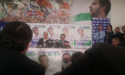 Attilio Fontana in conferenza stampa VIDEO