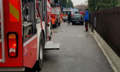 Incendio in una villetta di Santo Stefano VIDEO