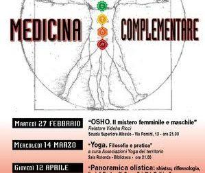 "Secondo appuntamento di ""Medicina complementare"""