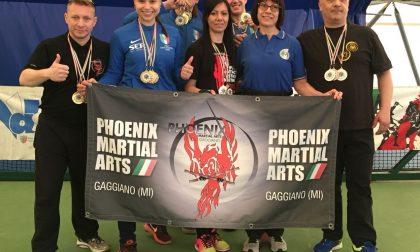 Stick Fighting, brillano gli atleti della Phoenix Martial Arts di Gaggiano