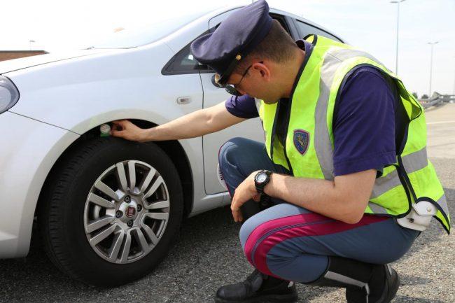 Vacazne sicure, controllo pneumatici