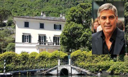 Clooney e famiglia sono arrivati su lago di Como