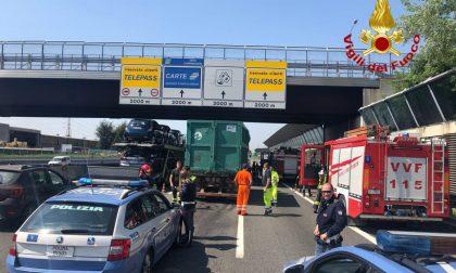 Incidenti e code sull'autostrada A4 a Monza verso Milano