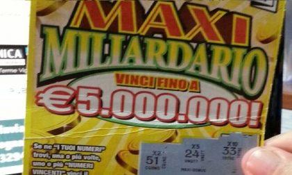 Gratta e Vinci: maxi vincita da 5 milioni a Magenta