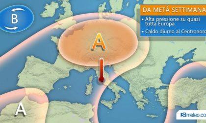 Arriva l'anticiclone europeo e i primi caldi di stagione PREVISIONI METEO