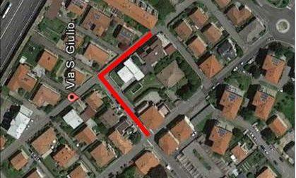 Rifacimento condotto fognario in via Santa Liberata e San Giulio