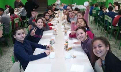 Colazione in classe a San Vittore Olona FOTO
