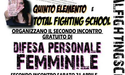 Stage gratuito di autodifesa femminile a Venegono