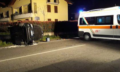 Incidente sulla Novedratese, due feriti a Lomazzo