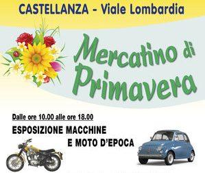 Mercatino di primavera domenica a Castellanza