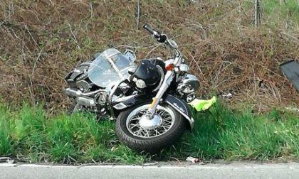 Incidente sulla Provinciale 109 a Pogliano: gravi le condizioni del motociclista