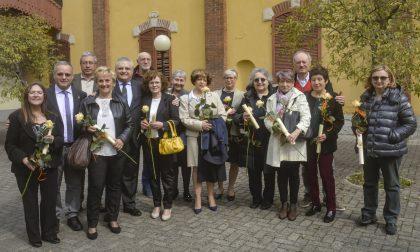 Consegna  diplomi di benemerenza ai pensionati dell'azienda ospedaliera