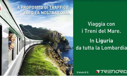Tornano i treni del mare, dalla Lombardia alle spiagge della Liguria
