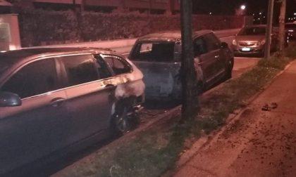 Due auto a fuoco nella notte a Zelo Surrigone