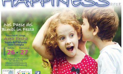 """Happiness a Cislago: torna il """"Paese dei bimbi in festa"""""""