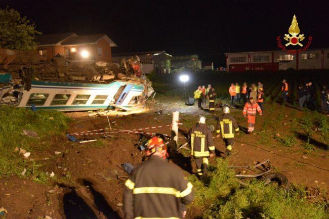 Disastro ferroviario Caluso, il video shock del momento dell'incidente