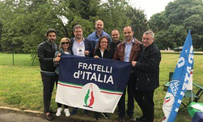 Fratelli d'Italia, bis di onorevoli al mercato di Arese