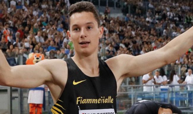 Nuovo record di Filippo Tortu: secondo sprinter azzurro di sempre dopo Mennea