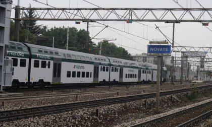 Rissa sul treno, paura alla stazione di Novate