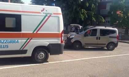 Incidente ad Albairate, ambulanza per una bambina di sette anni