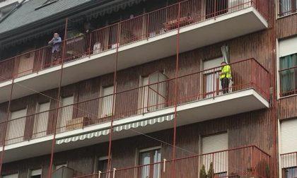 Anziana salvata dai pompieri FOTO e VIDEO