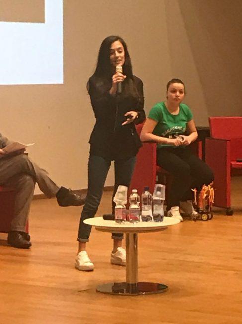 Castano Primo, Giulia Bossi al convegno sulle parità di genere
