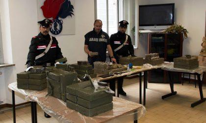 2000 pannetti di hashish stipati su un camion carico di elettrodomestici. Un maxi sequestro di droga per un milione e 200 mila euro