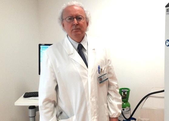 Il dottor Adriano Vaghi