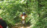 Cipta contro il motocross nel parco del Rugareto