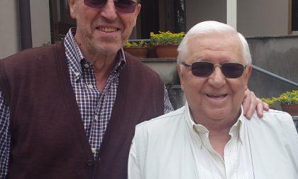 Charlie Recalcati in paese per riabbracciare l'amico dopo 50 anni