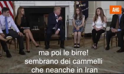 "Trump ""dichiara guerra"" al Toga Party dei rugbisti  VIDEO PARODIA"