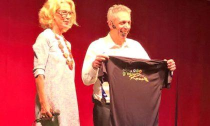 Max Pisu incanta S.Vittore Olona e viene invitato alla corsa LE FOTO
