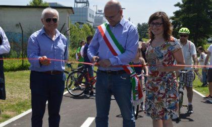 Inaugurato il completamento della ciclabile Garbatola-Betulle