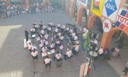 Bande in concerto al museo Fisogni di Tradate FOTO